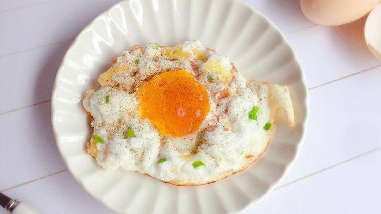 溏心云朵鸡蛋