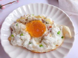 溏心云朵鸡蛋,完成,开吃啦~
