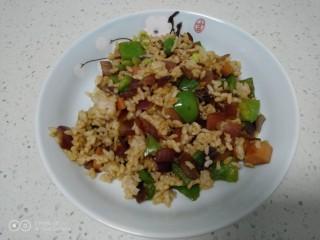 菜椒火腿炒米