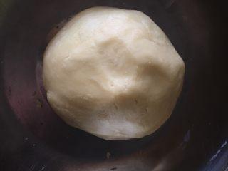 网红仙豆糕,揉成光滑面团,不需过度揉面