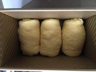 南瓜吐司,二次发酵