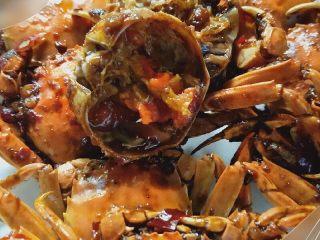 香辣螃蟹🦀,开吃啦  味道很不错呦