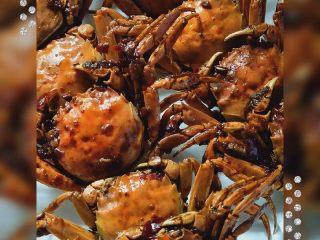香辣螃蟹🦀,装盘啦