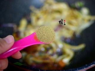 手撕蚝油杏鲍菇,加孜然粉