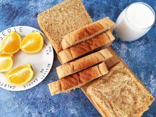 全麦吐司,营养早餐首选。