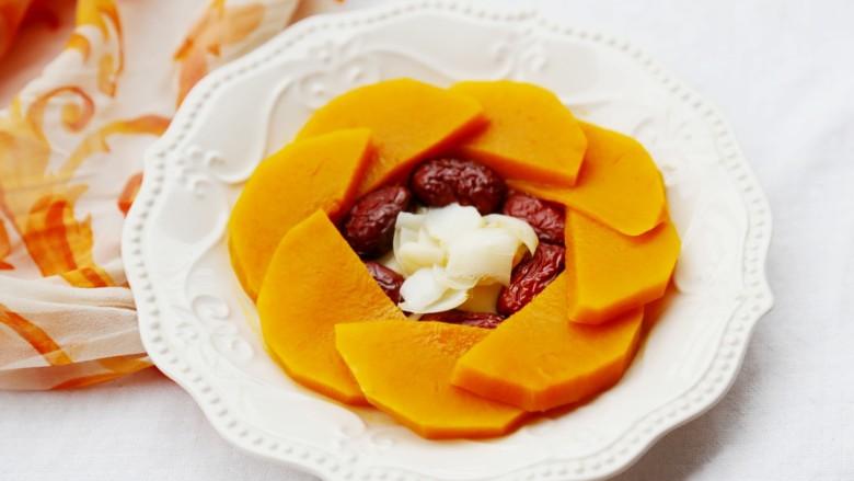 美食丨红枣百合蒸南瓜 滋阴润燥美颜