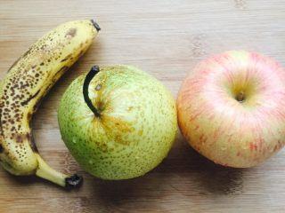 酒酿水果羹,家里的剩水果再不吃掉都快坏掉了