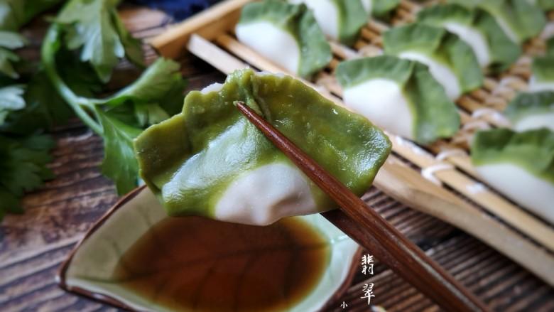 翡翠饺子——用一盘情意绵绵的饺子温暖整个冬天