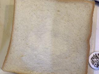 超浓鸡蛋芝士西多士,把面包盖上