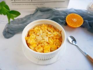 香橙烤吐司—清新香甜的早餐,成品图。