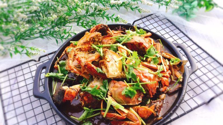 家常菜+红烧大闸蟹