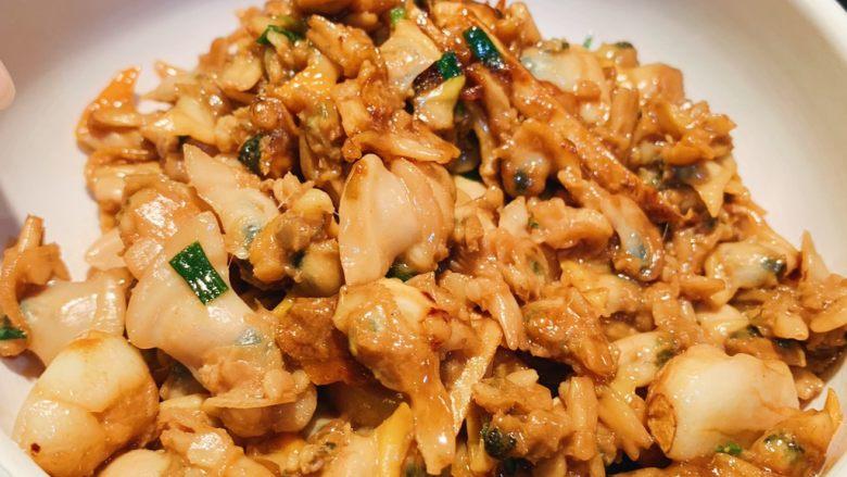 姜蒜炒螺肉