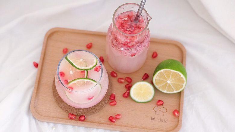 百变水果:粉红气泡水