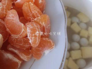 百变水果 桂花水果圆子羹,放桔子