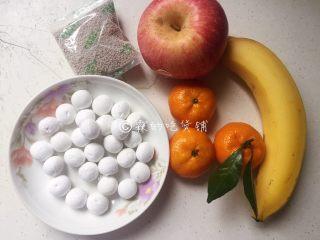 百变水果 桂花水果圆子羹,食材