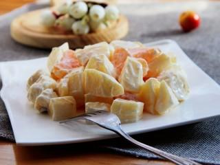 芝士酸奶水果沙拉,美美哒!