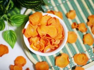 百变水果 营养丰富的胡萝卜片 简单零失败巨好吃