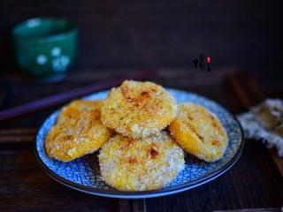 红薯糯米饼,成品图