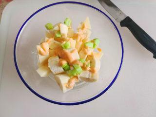 百变水果  水果沙拉,挤入千岛酱,