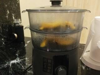 新文美食  二龙戏珠,打开电源蒸20分钟即可。