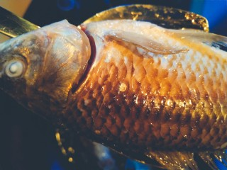 浓郁奶白鲫鱼汤,中小火煎鱼皮才不容易破