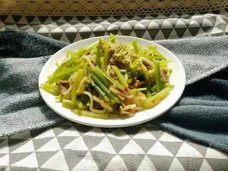羊肉炒芹菜