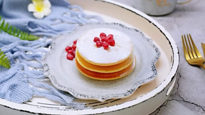10分钟轻松搞定快手早餐~酸奶松饼
