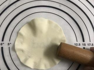 简单版糯米烧卖,在饺子皮边缘擀一下形成花边