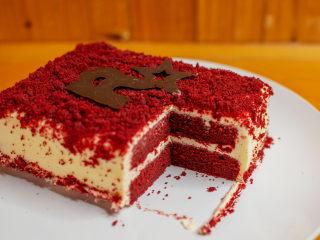 红丝绒蛋糕 无需酪乳 奶酪霜抹面