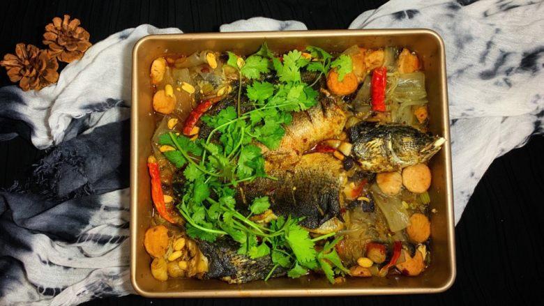 烤鱼—黑鱼