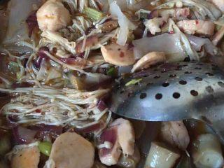 烤鱼—黑鱼,放配菜