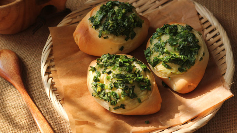 让人吃后难忘的葱多多面包【台式香葱包】