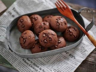 巧克力软曲奇,完成