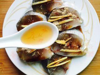 香煎马鲛鱼,两勺料酒