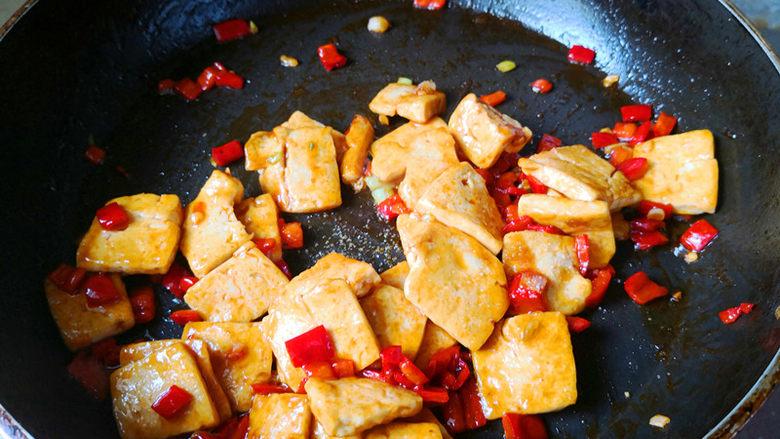 酸辣开胃豆腐,可以出锅了。