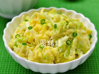 韭黄炒滑蛋