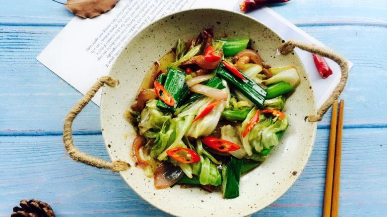 干锅包菜(简易版)