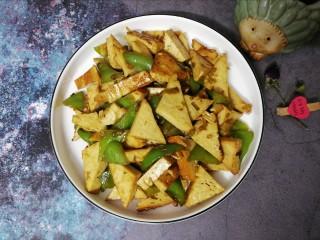 素鸡豆腐炒青椒