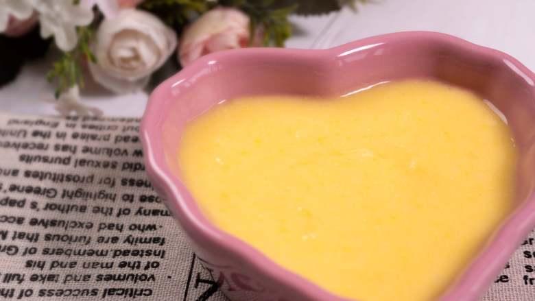 宝宝辅食 混合泥——玉米山药泥