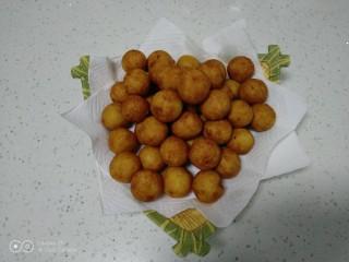 红薯糯米丸子
