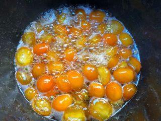 金桔酱,煮到这样就可以了,粘稠度刚刚好,是不是特别诱人。