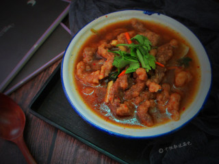 酸辣酥肉汤,寒冷的冬日来一碗酸辣酥肉汤,胃!暖暖的!