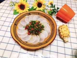 清蒸白萝卜-下饭菜