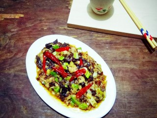 传统鱼香肉丝