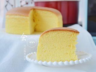 日式棉花蛋糕(8寸圆模)