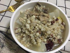 萝卜薏米芡实排骨汤