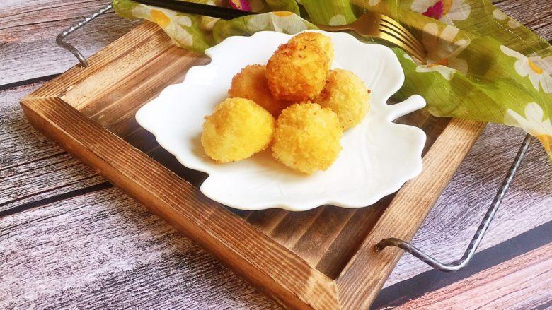 芝士土豆球——土豆的N种吃法2,完成