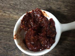 辣椒炒肉,郫县豆瓣酱25克