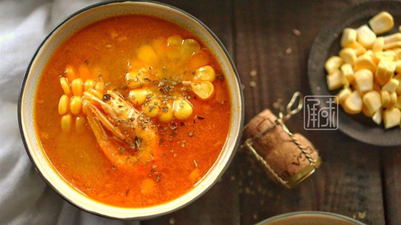 承味 甜虾玉米汤