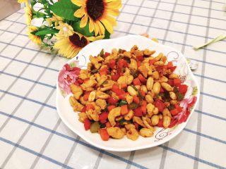 能吃两碗饭的下饭菜-宫保鸡丁,成品图。
